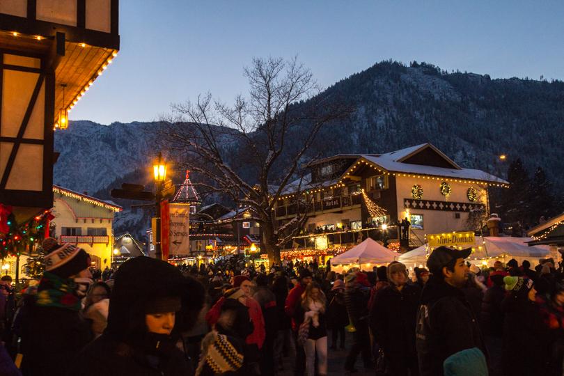 Leavenworth Xmas Lighting Festival