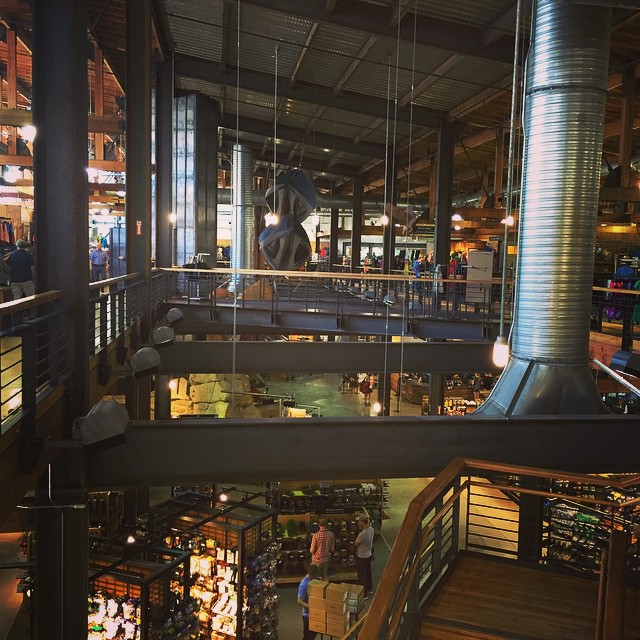 REI flagship is kinda insane.