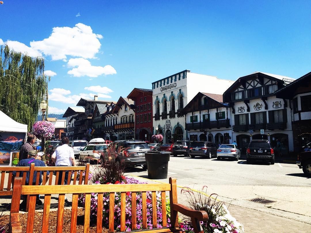 And Leavenworth is the new favorite place.