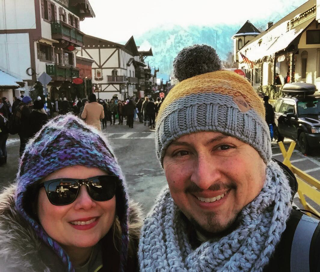 Leavenworth in December is the place to be. yeah it's cold.