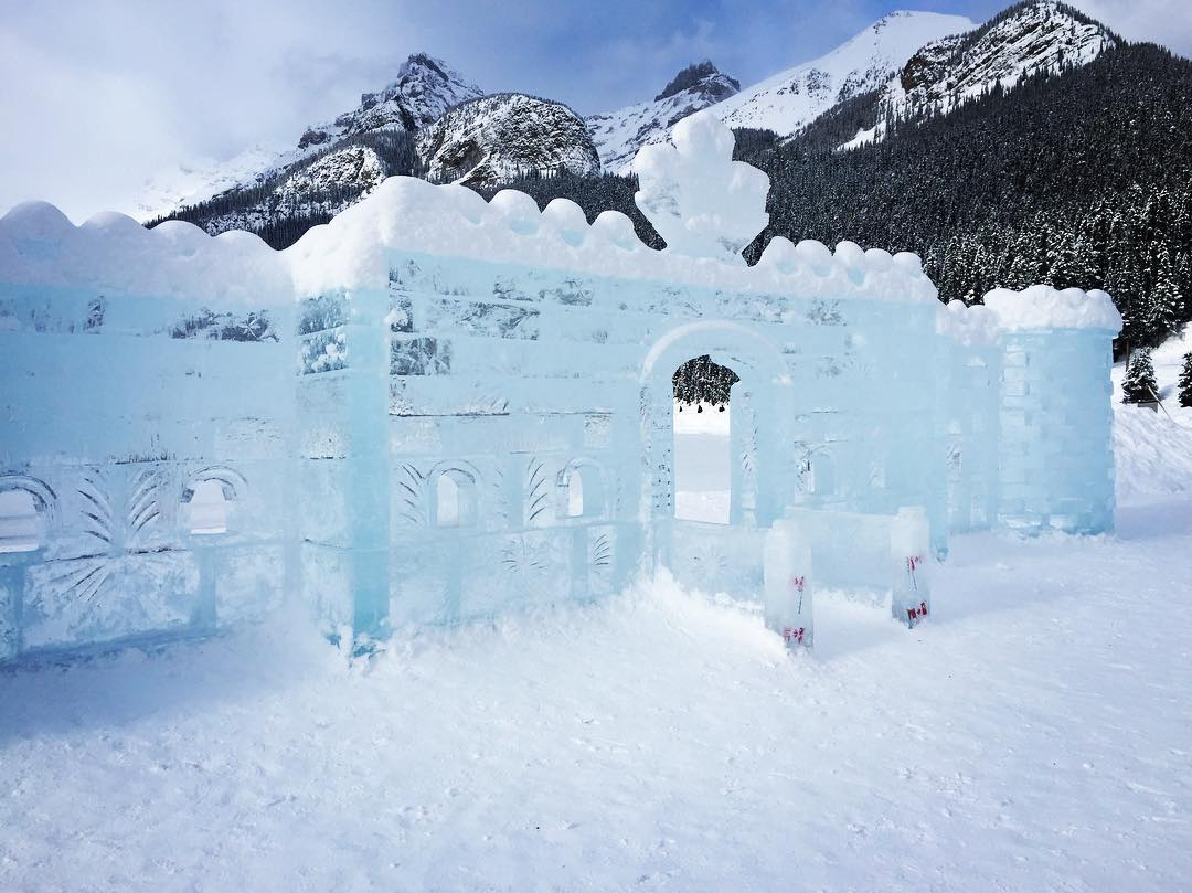 and an Ice castle!!