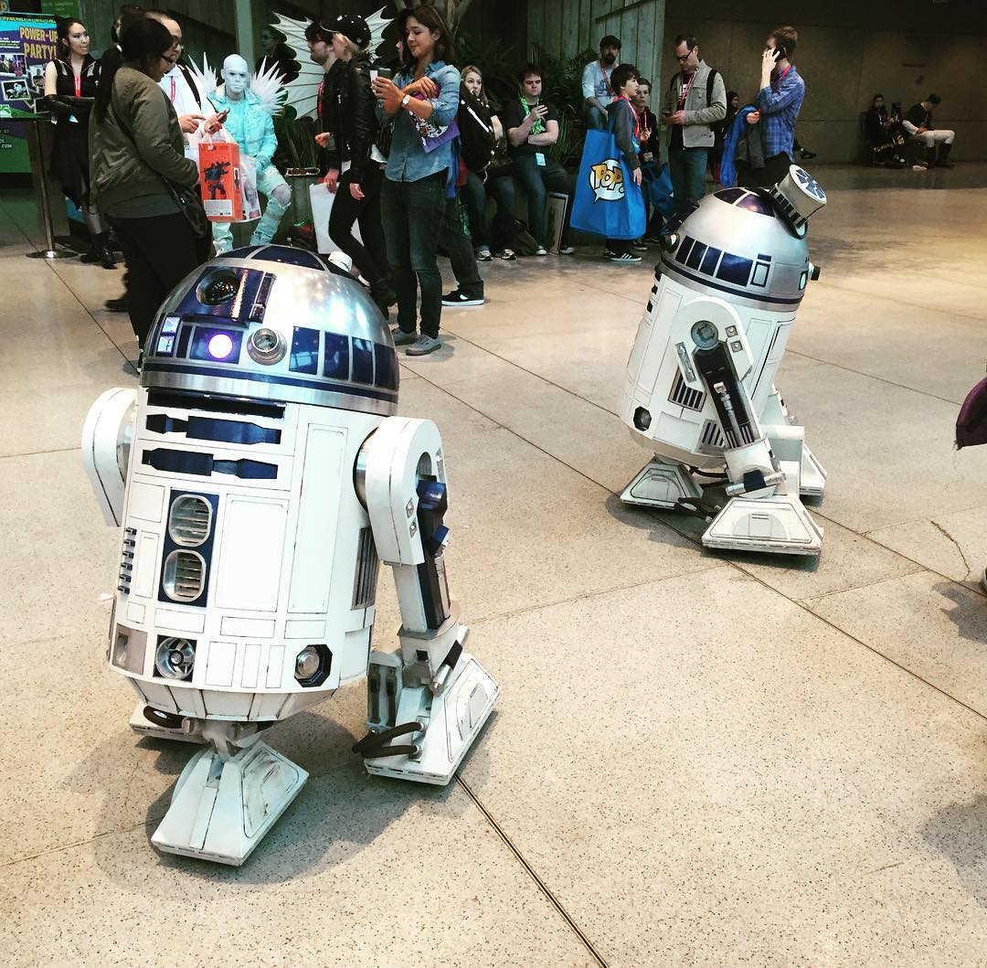 First celebrity sighting at EmeraldCon