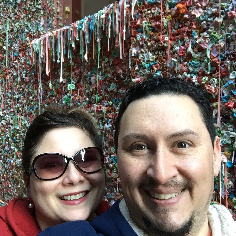 gum wall - kinda gross