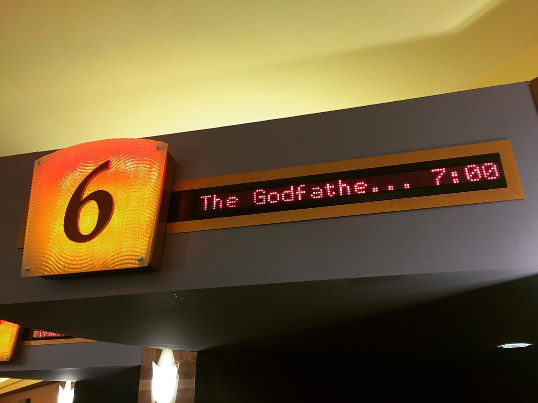 Last time I saw this in the theater, I was -1 month old. That's damn fine parenting.