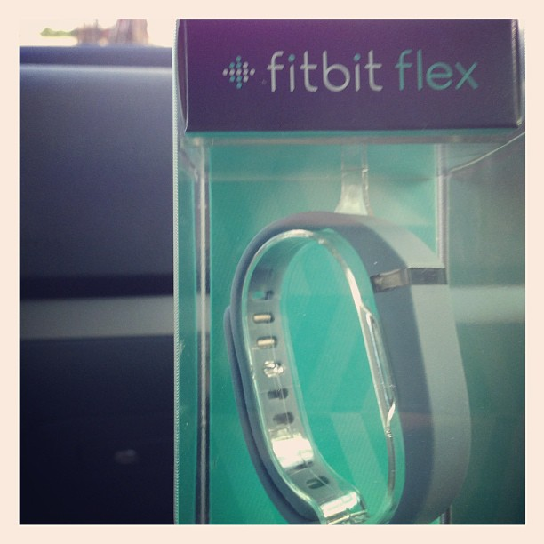 Only two fitbits in the entire city! And Bryan found it for me!! I'm a lucky girl!