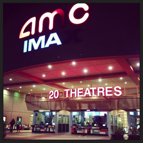 Late night Monsters U in Santa Clara .... Isn't Pixar around here?