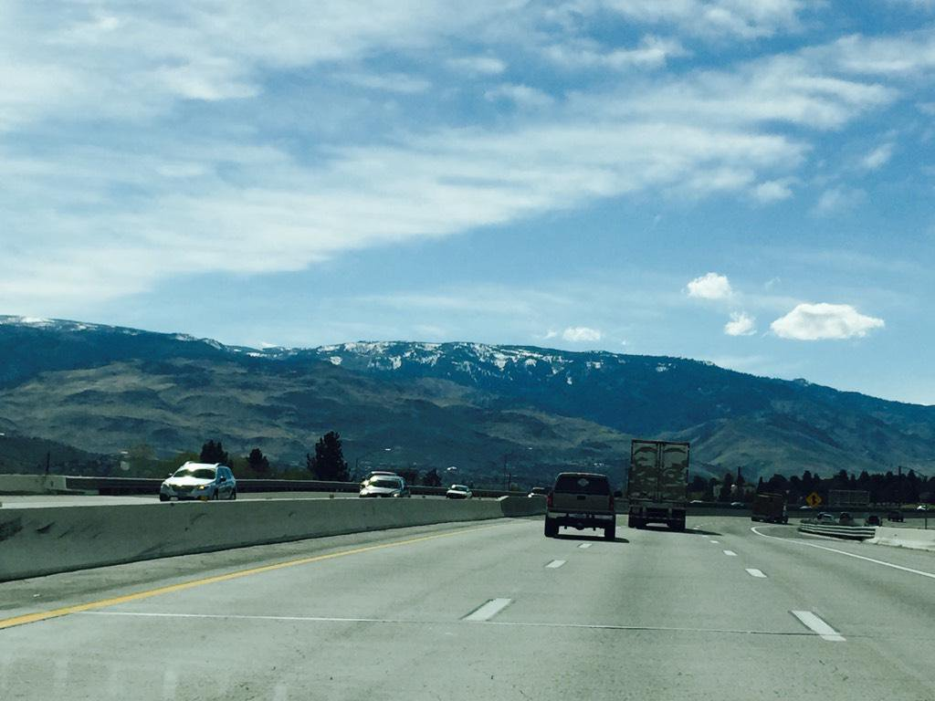 Driving to Tahoe!!