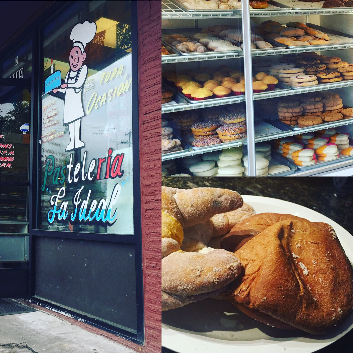 The one place for pan dulce in Seattle is just as good as any place in Houston. Who knew!?